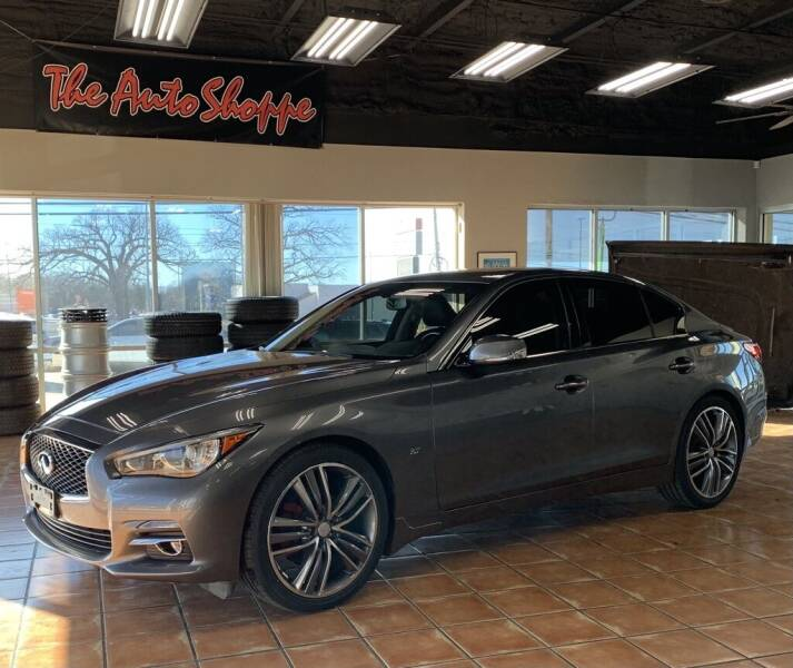 2015 Infiniti Q50 for sale at The Auto Shoppe in Springfield MO