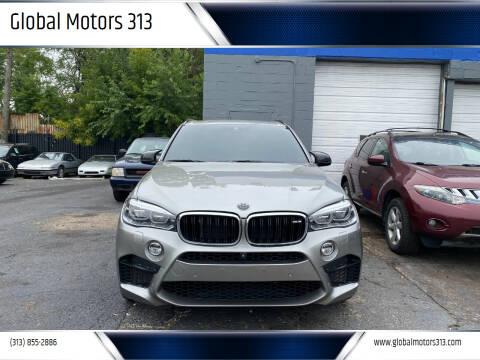 2016 BMW X5 M for sale at Global Motors 313 in Detroit MI