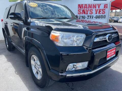 2012 Toyota 4Runner for sale at Manny G Motors in San Antonio TX