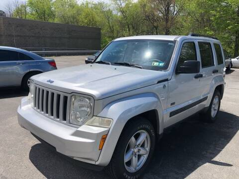2009 Jeep Liberty for sale at SARRACINO AUTO SALES INC in Burgettstown PA