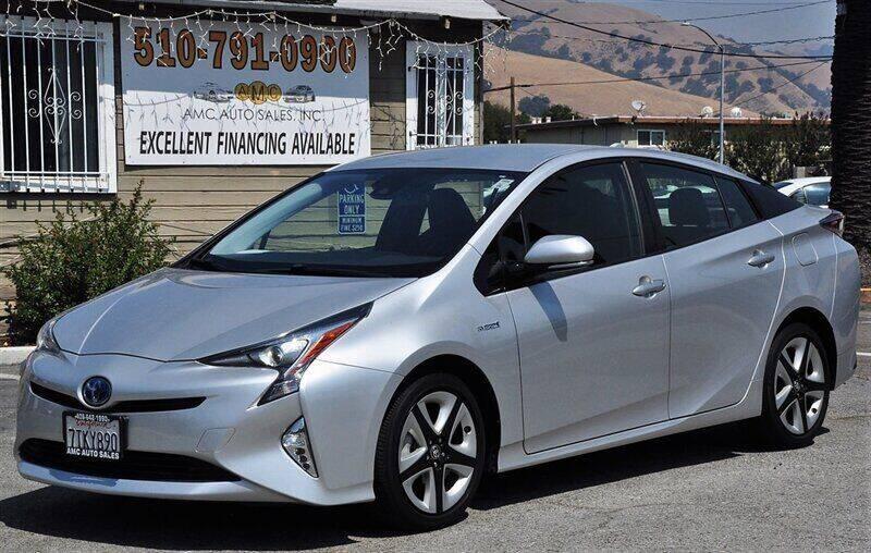 2016 Toyota Prius for sale at AMC Auto Sales, Inc. in Fremont CA