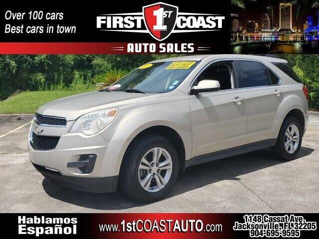 2010 Chevrolet Equinox for sale at 1st Coast Auto -Cassat Avenue in Jacksonville FL