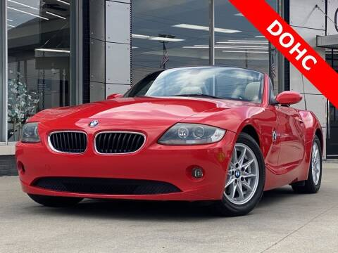 2005 BMW Z4 for sale at Carmel Motors in Indianapolis IN