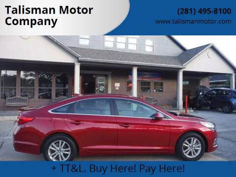 2016 Hyundai Sonata for sale at Don Jacobson Automobiles in Houston TX