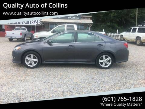 2014 Toyota Camry for sale at Quality Auto of Collins in Collins MS