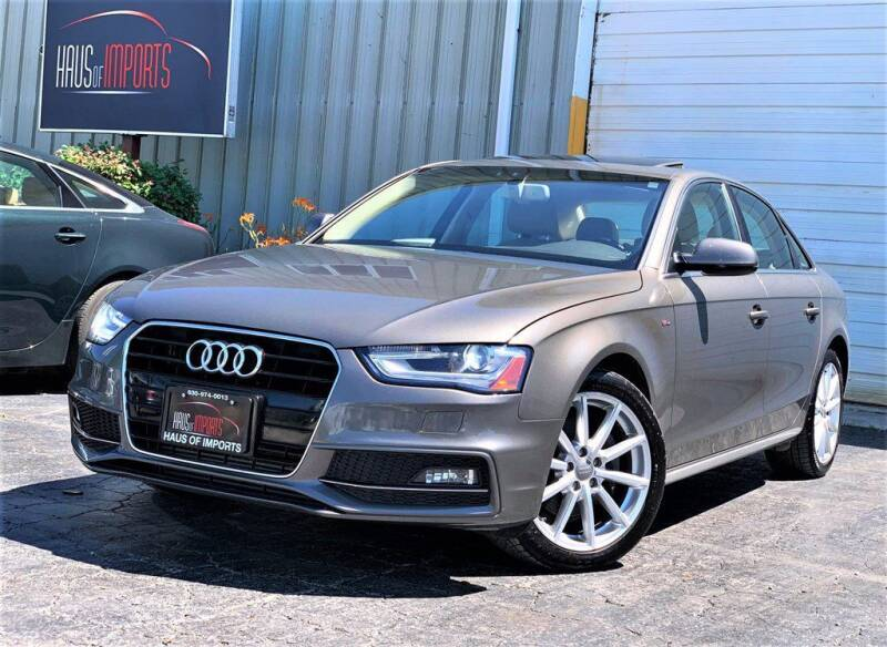 2015 Audi A4 for sale at Haus of Imports in Lemont IL