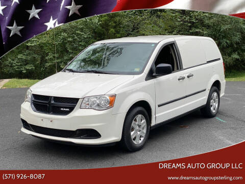 2012 RAM C/V for sale at Dreams Auto Group LLC in Sterling VA