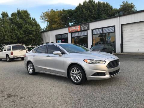2013 Ford Fusion for sale at Autohaus of Greensboro in Greensboro NC