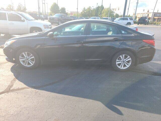 2013 Hyundai Sonata for sale at COYLE GM - COYLE NISSAN - New Inventory in Clarksville IN
