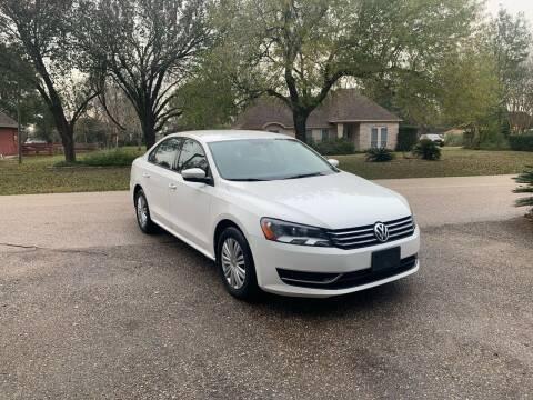 2015 Volkswagen Passat for sale at CARWIN MOTORS in Katy TX