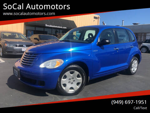 2006 Chrysler PT Cruiser for sale at SoCal Automotors in Costa Mesa CA