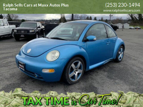2004 Volkswagen New Beetle for sale at Ralph Sells Cars at Maxx Autos Plus Tacoma in Tacoma WA