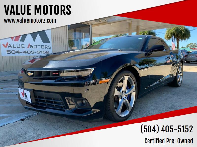 2014 Chevrolet Camaro for sale at VALUE MOTORS in Kenner LA