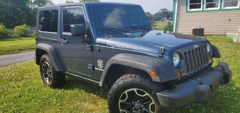 2008 Jeep Wrangler for sale at Sinclair Auto Inc. in Pendleton IN