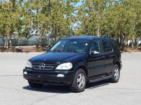 2003 Mercedes-Benz M-Class for sale at Crow`s Auto Sales in San Jose CA