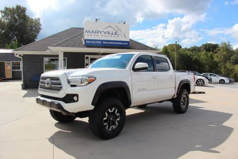 2016 Toyota Tacoma for sale at Maryville Auto Sales in Maryville TN