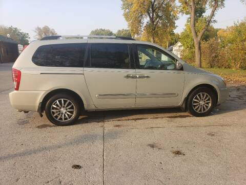 2012 Kia Sedona for sale at BROTHERS AUTO SALES in Eagle Grove IA