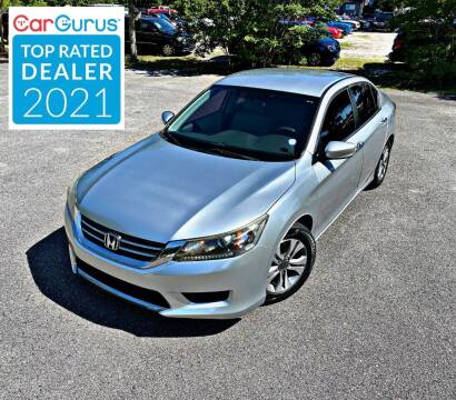 2014 Honda Accord for sale at Brothers Auto Sales of Conway in Conway SC