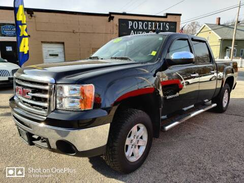 2013 GMC Sierra 1500 for sale at Porcelli Auto Sales in West Warwick RI