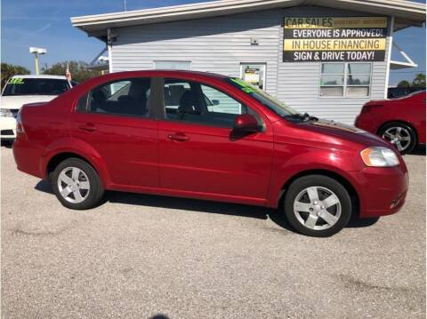 2010 Chevrolet Aveo for sale at My Value Car Sales in Venice FL