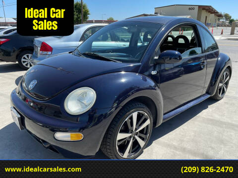 2001 Volkswagen New Beetle for sale at Ideal Car Sales in Los Banos CA