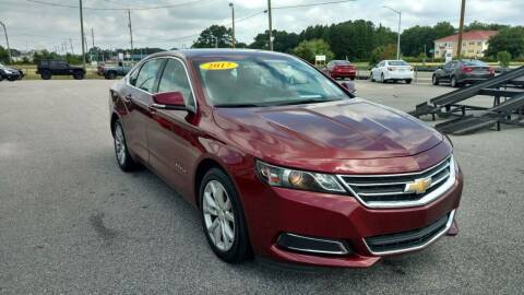 2017 Chevrolet Impala for sale at Kelly & Kelly Supermarket of Cars in Fayetteville NC
