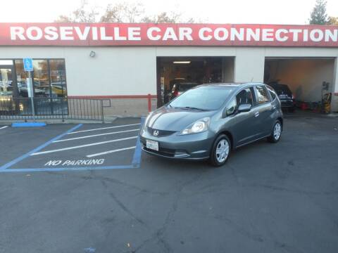 2012 Honda Fit for sale at ROSEVILLE CAR CONNECTION in Roseville CA