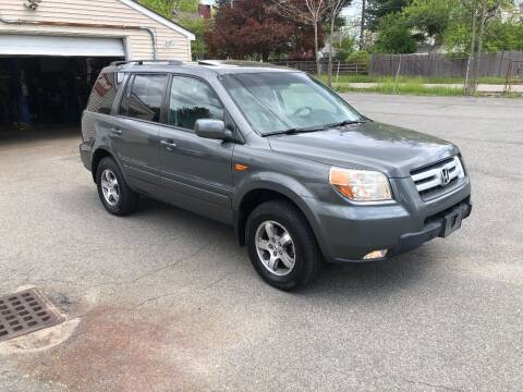 2008 Honda Pilot for sale at HZ Motors LLC in Saugus MA