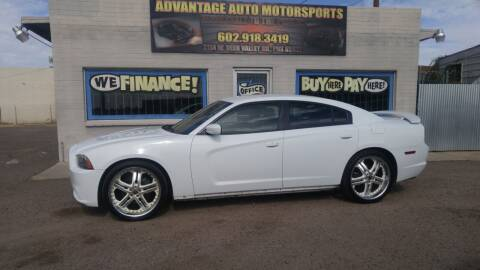2013 Dodge Charger for sale at Advantage Auto Motorsports in Phoenix AZ