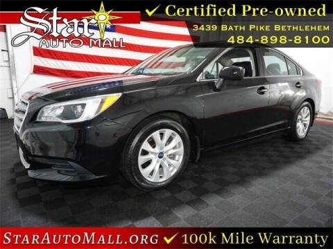 2017 Subaru Legacy for sale at STAR AUTO MALL 512 in Bethlehem PA