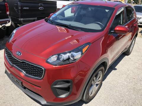 2017 Kia Sportage for sale at Pary's Auto Sales in Garland TX