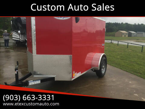 2021 Continental Cargo 5x8 Enclosed Single Axle for sale at Custom Auto Sales - TRAILERS in Longview TX