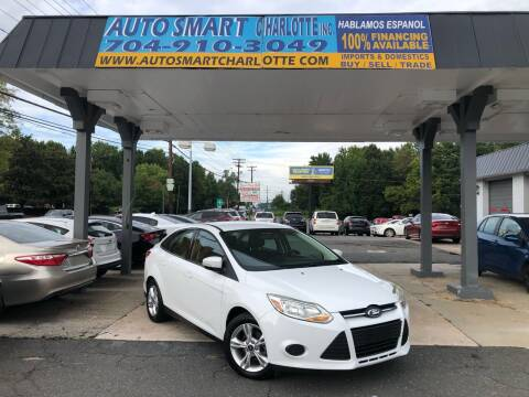 2014 Ford Focus for sale at Auto Smart Charlotte in Charlotte NC