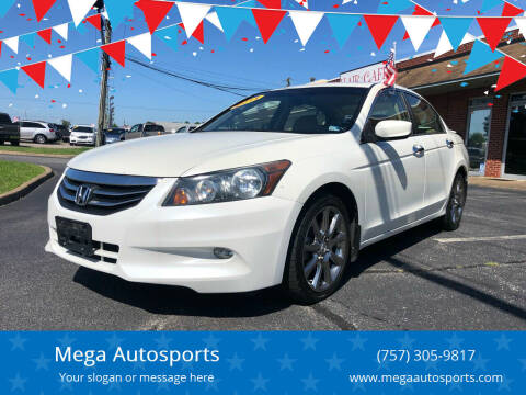 2011 Honda Accord for sale at Mega Autosports in Chesapeake VA