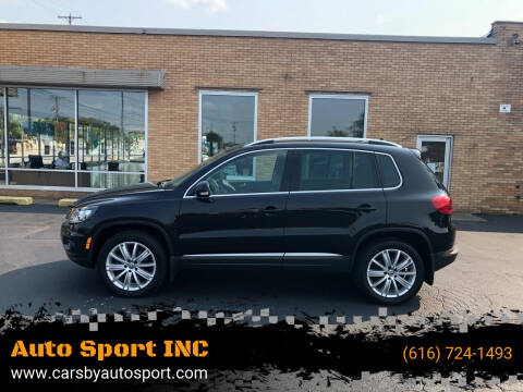 2016 Volkswagen Tiguan for sale at Auto Sport INC in Grand Rapids MI