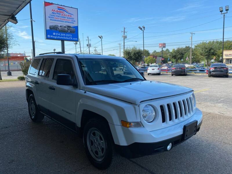 2014 Jeep Patriot for sale at Magic Auto Sales in Dallas TX