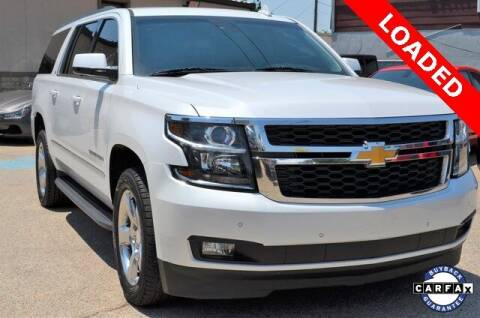 2017 Chevrolet Suburban for sale at LAKESIDE MOTORS, INC. in Sachse TX