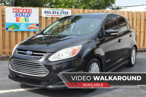 2015 Ford C-MAX Hybrid for sale at ALWAYSSOLD123 INC in Fort Lauderdale FL