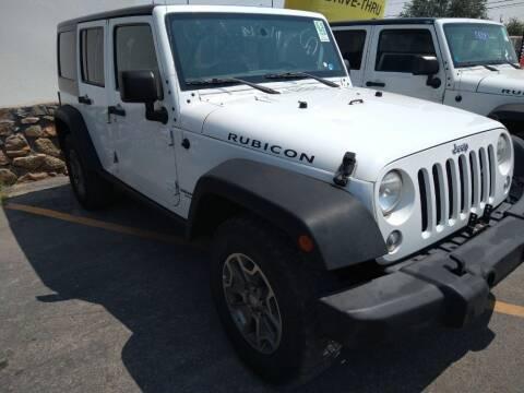 2015 Jeep Wrangler Unlimited for sale at VIVASTREET AUTO SALES LLC - VivaStreet Auto Sales in Socorro TX