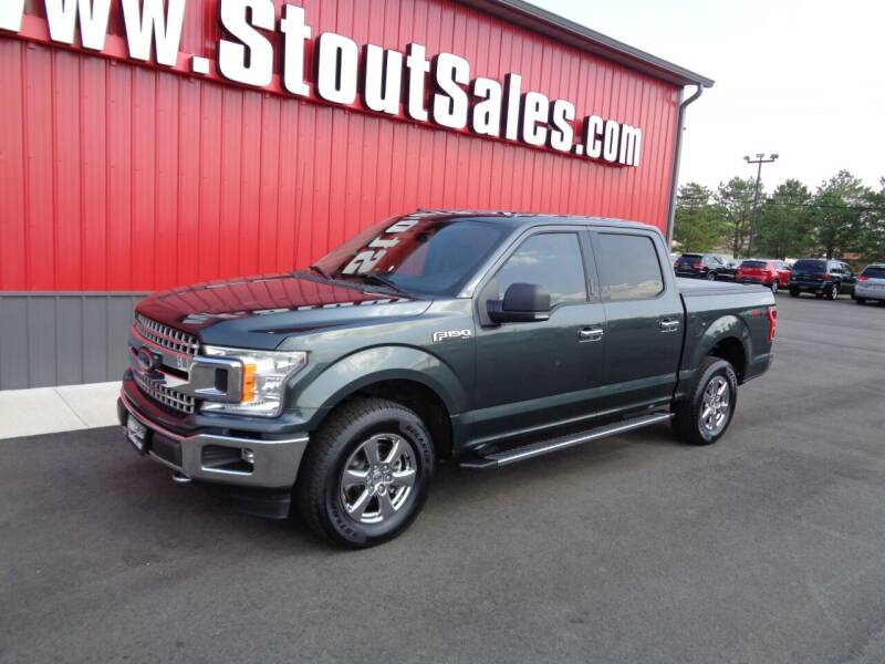 2018 Ford F-150 for sale at Stout Sales in Fairborn OH