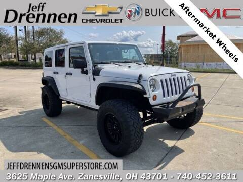2013 Jeep Wrangler Unlimited for sale at Jeff Drennen GM Superstore in Zanesville OH