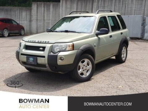 2004 Land Rover Freelander for sale at Bowman Auto Center in Clarkston MI