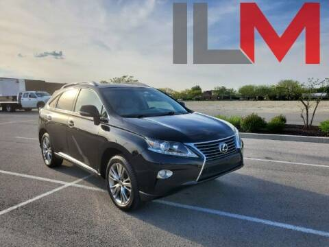 2013 Lexus RX 350 for sale at INDY LUXURY MOTORSPORTS in Fishers IN