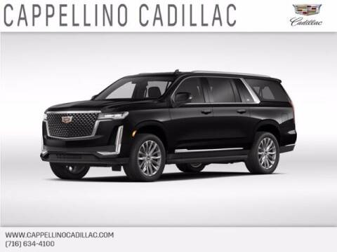 2021 Cadillac Escalade ESV for sale at Cappellino Cadillac in Williamsville NY
