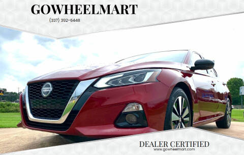 2019 Nissan Altima for sale at GOWHEELMART in Leesville LA
