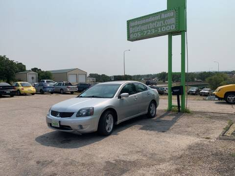 2007 Mitsubishi Galant for sale at Independent Auto in Belle Fourche SD