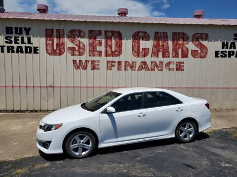 2014 Toyota Camry for sale at Yates Brothers Motor Company in Fort Worth TX