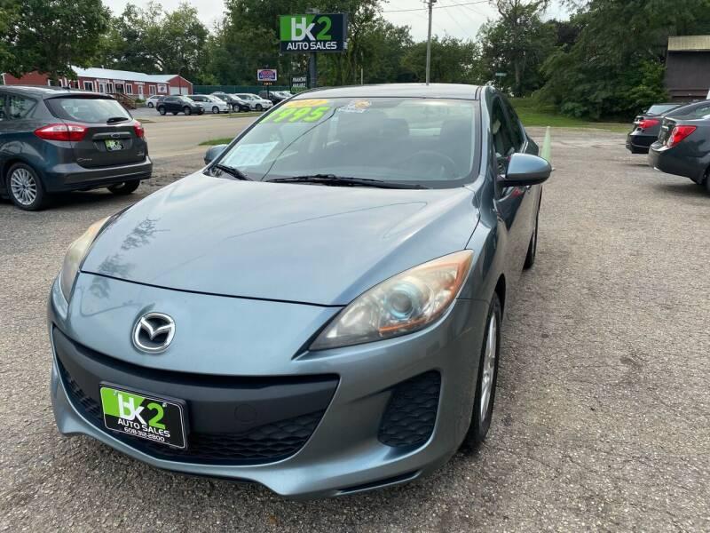 2012 Mazda MAZDA3 for sale at BK2 Auto Sales in Beloit WI