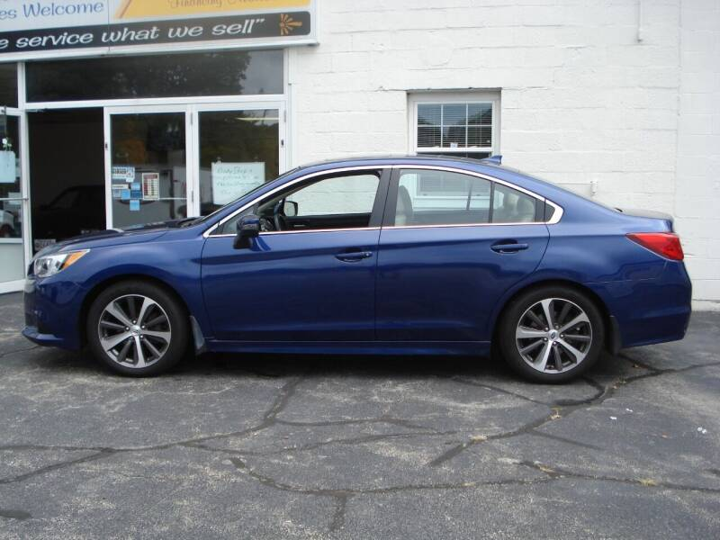 2017 Subaru Legacy for sale at Colonial Auto of Worcester Inc in Worcester MA