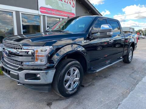2018 Ford F-150 for sale at Martins Auto Sales in Shelbyville KY